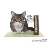 サンリオ 温度計付き暑がるネコ 725439│カード・ポストカード グリーティングカード