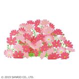 サンリオ(SANRIO) 立体レーザーカットカード レーザーカットコスモス 887242│カード・ポストカード グリーティングカード