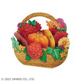 サンリオ(SANRIO) 立体ダイカットカード カボチャバスケット 887595│カード・ポストカード グリーティングカード