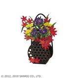 サンリオ(SANRIO) 立体ダイカットカード かごに秋の草花 887617│カード・ポストカード グリーティングカード