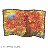 サンリオ(SANRIO) 立体レーザーカットカード 紅葉びょうぶ 888460│カード・ポストカード グリーティングカード