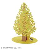サンリオ(SANRIO) 立体レーザーカットカード イチョウの木1本 888486│カード・ポストカード グリーティングカード