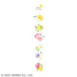 サンリオ(SANRIO) ダイカットガーランドカード つるして飾るカラフルお花 889580│カード・ポストカード グリーティングカード