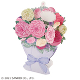 サンリオ(SANRIO) 立体ダイカットカード ピンク系ブーケ 889644│カード・ポストカード グリーティングカード