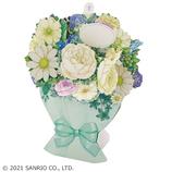サンリオ(SANRIO) 立体ダイカットカード グリーン系ブーケ 889709│カード・ポストカード グリーティングカード