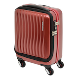 フリクエンター クラム アドバンス ストッパー付4輪キャリー 1−217 縦 ワイン 23L│スーツケース・旅行かばん スーツケース