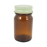 カミオカ 薬瓶 茶遮光 20mL│メイク道具・化粧雑貨 詰め替え容器