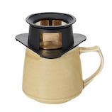 【お買い得】 コレス シングルカップ ゴールドフィルター キキマグセット C716 イエロー│茶器・コーヒー用品 コーヒードリッパー・フィルター