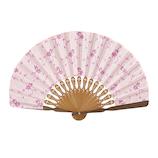 山二 婦人布扇 フロルセット 1121S ピンク