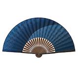 山二 紳士布扇子 麻の葉グラデセット 3008S 紺│夏物雑貨 扇子・うちわ(団扇)