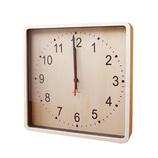 ヤマト工芸 ROUND CLOCK 掛け時計 YK15−103 ブラウン
