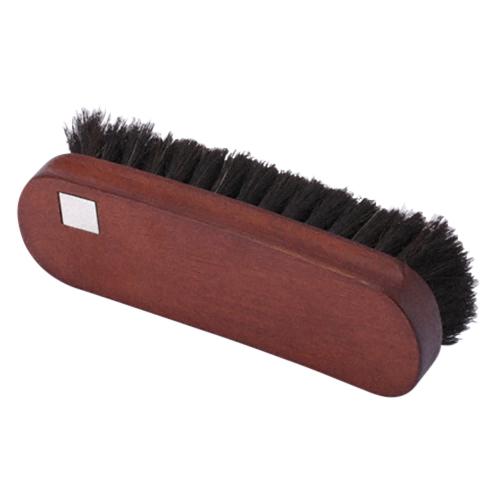 コロニル 馬毛ブラシ ブラック│靴磨き・シューケア用品 靴ブラシ