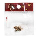 誠和 ブラス ギボシ中 B 頭径7mm 2個入│レザークラフト用品 皮革用金具