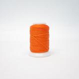 Wロー引き糸  オレンジ 0番手