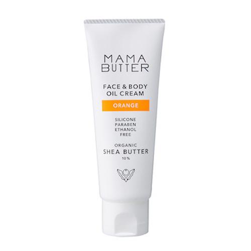 ママバター(MAMA BUTTER) フェイス&ボディオイルクリーム オレンジ 60g