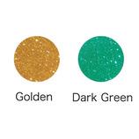 GLITTOO 専用パウダー 2色セット ゴールド&ダークグリーン GTP04