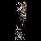 ほつま高蒔絵 枝垂れ桜と蝶 K103