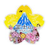 トラベルステッカー 富士山・桜 TS39
