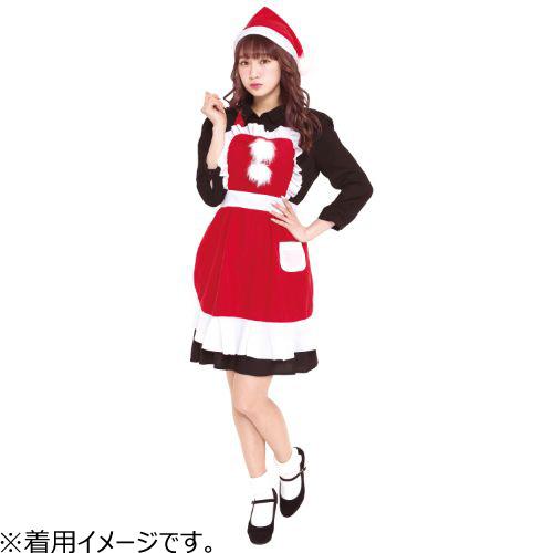 【クリスマス】 フリルクリスマスエプロン