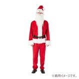 【クリスマス】 クリアストーン GOGOサンタさん メンズ レッド