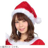【クリスマス】 クリアストーン サンタ帽子 レッド
