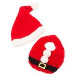 【クリスマス】 クリアストーン サンタスタイセット