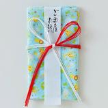 <東急ハンズ> 布で出来たご祝儀袋 シエル ご祝儀袋 花結び 5067ハッピーzooブルー画像