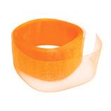 インディゴ オーガンジーリボン 25mm PR692 24OR オレンジ