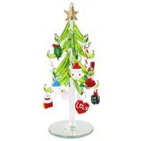 【クリスマス】 クリスマスファクトリー オーナメントガラスツリー グリーン 17400