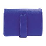 シェリー 磁気シールドカードケース ブルー
