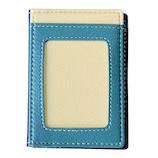 シェリー ICカード 1枚読みケース IC‐A02N/B ネイビー/ブルー│名札・カードホルダー 名札ケース・IDカードケース