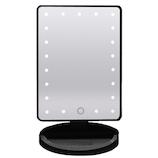 F.K.Solutions LEDライティングミラーLA ブラック│照明器具 卓上照明