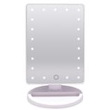 F.K.Solutions LEDライティングミラーLA ホワイト│照明器具 卓上照明