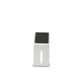 KINZOKUOH Flow SMS シルバー│収納・クローゼット用品 携帯・スマホスタンド