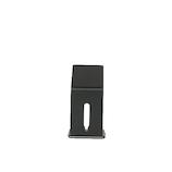 KINZOKUOH Flow SMS ブラック│収納・クローゼット用品 携帯・スマホスタンド