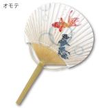 四国団扇 透明竹うちわ 金魚すくい│夏物雑貨 扇子・うちわ(団扇)