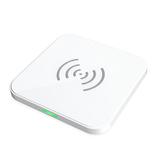 CHOETECH ワイヤレスチャージャー Qi規格対応 5W/7.5W/10W T511S-WH ホワイト│携帯・スマホアクセサリー モバイルバッテリー・携帯充電器