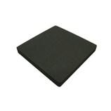 EVAスポンジ 10角板 ブラック