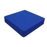 EVAスポンジ 100×100×20mm ブルー│ゴム・ウレタン その他 ゴム素材