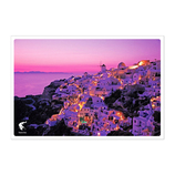 絶景ポストカード ZPC−009 サントリーニ島 ギリシャ│カード・ポストカード ポストカード(写真)
