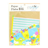 AIUEO PaperFlakeBIG APFB−01 kids animal