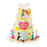 いろは出版 AIUEO アルバムポップアップ APU-10 celebrate cake (セレブレケーキ)