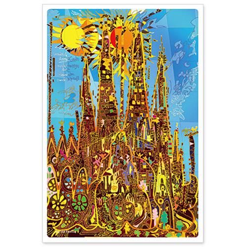 いろは出版 世界遺産アート ポストカード サグラダファミリア スペイン Tpca 02 東急ハンズネットストア