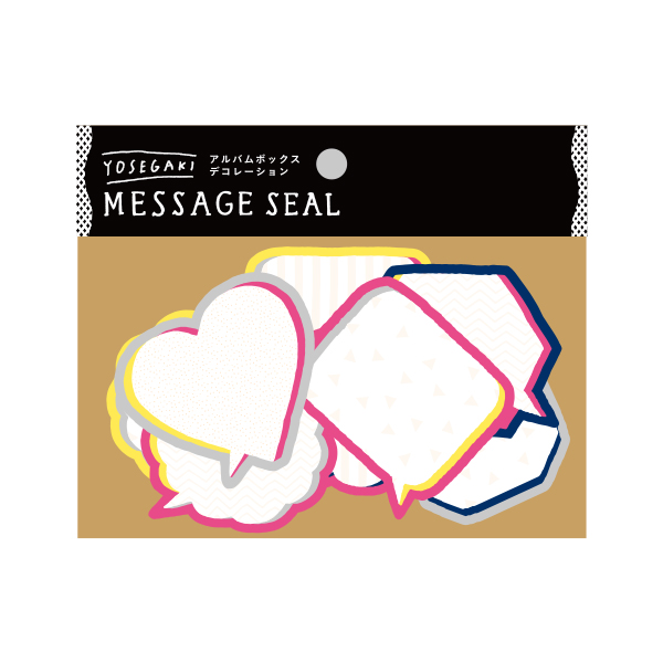 いろは出版 SURPRISE FACTORY YOSEGAKI MESSAGE SEAL POP SDY‐01