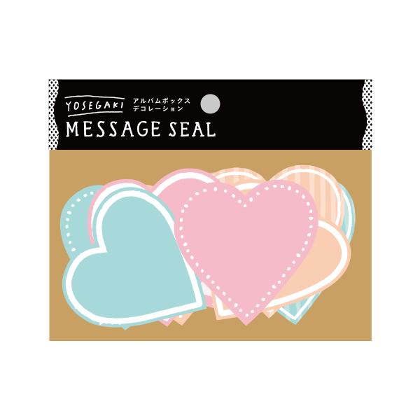 いろは出版 SURPRISE FACTORY YOSEGAKI MESSAGE SEAL PASTEL SDY‐02