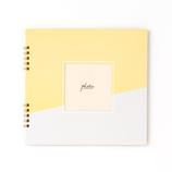 いろは出版 ましかくアルバム ALBUM PHOTOGENIC S GAS−01 イエロー