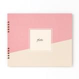 いろは出版 ましかくアルバム ALBUM PHOTOGENIC M GAM-01 ピンク