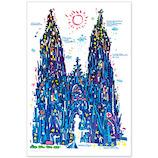 いろは出版 世界遺産アート ポストカード ケルン大聖堂 ドイツ TPCA−17
