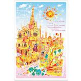いろは出版 世界遺産アート ポストカード セビージャの大聖堂 TPCA−18 スペイン