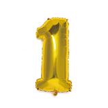 いろは出版 ナンバーバルーン [1] SFNG-01 ゴールド